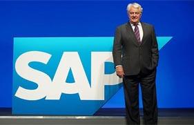 SAP公司监事会主席哈索博士(Hasso Plattner)
