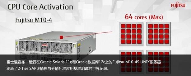 Fujitsu M10 UNIX服务器再次刷新2-Tier SAP® SD标准应用基准测试世界纪录